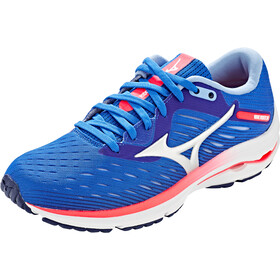Mizuno Wave Rider 24 Shoes Women, patriot blue/arcticice/diva pink